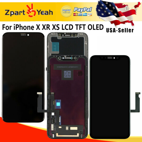 LCD For iPhoneX XR XS OLED Screen Digitizer Replacement 3D Touch Screen Assembly