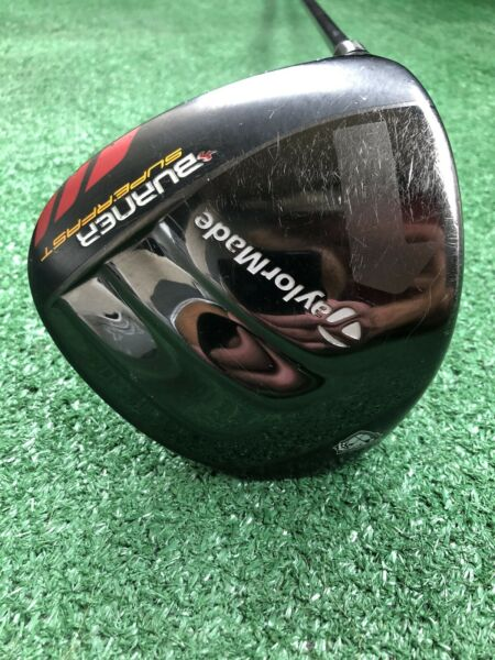 "1"" TaylorMade Burner SuperFast TP 9.5* Driver 44.5"" Black Ops Stiff Graphite LH"