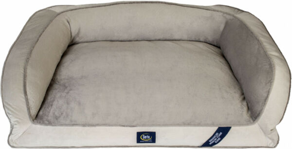 Extra Large Dog Memory Foam Couch Pet Bed Ortho Foam Fill Plush Sleep Surface $54.94