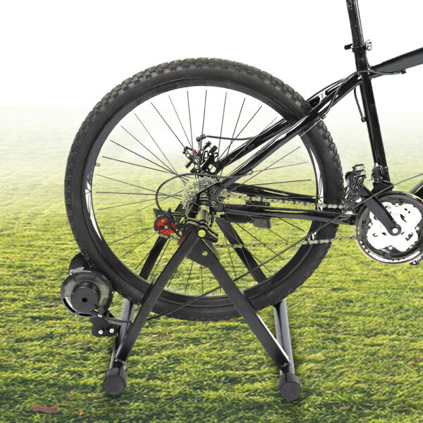 Bike Trainer Stand Magnetic Bicycle Stationary Stand For Indoor Exercise $83.65