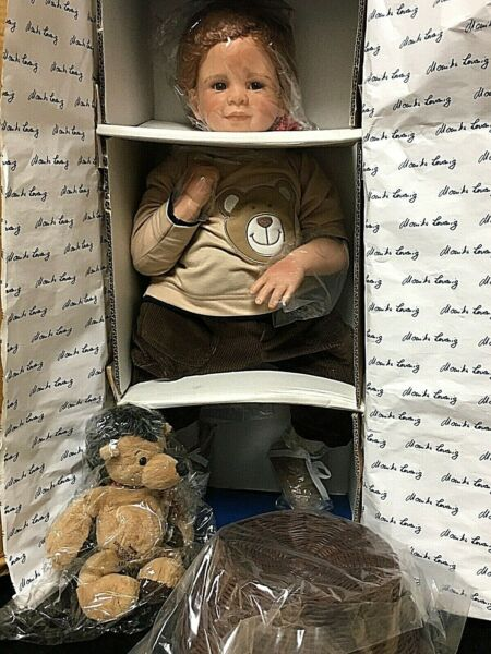 MasterPiece Gallery TIMMY Limited Edition 27quot; Artist Doll By Monika Levenig 2004