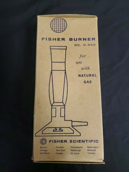 NEW Fisher Natural Gas Burner No. 3 902 OLD Stock $21.99