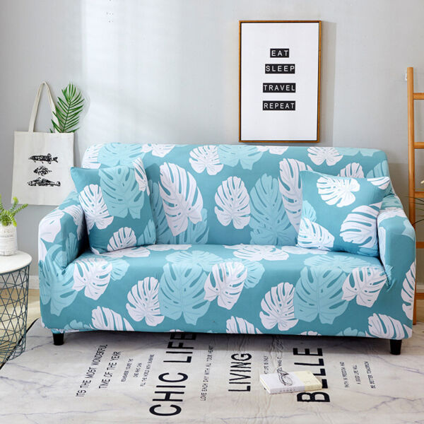 Elastic sofa cover printed tight wrap all inclusive couch covers slipcover $24.99