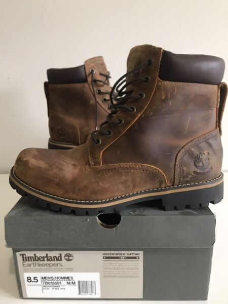 Timberland Boots Size 8.5 Brown $70.00