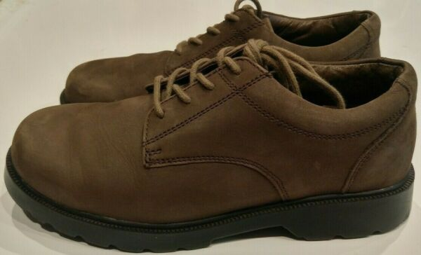 Jumping Jacks Brown Suede Nubuck Tommy Boys Oxford Shoes Big Kid Youth size 5 W $29.99