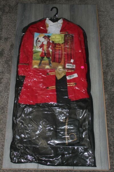 InCharacter Costumes Pirate Captain Size 6 Pre Loved *read* $14.99