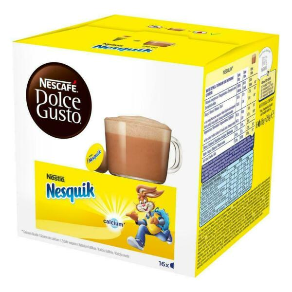 Nescafé Dolce Gusto Nesquik Pack of 1x 16 Capsules Free Shipping EXP:08 2020