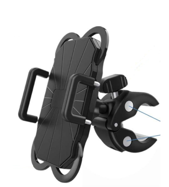 Universal Bike Mount Stretchable Bicycle Cell Phone Bracket Mobile Phone Holder $6.79