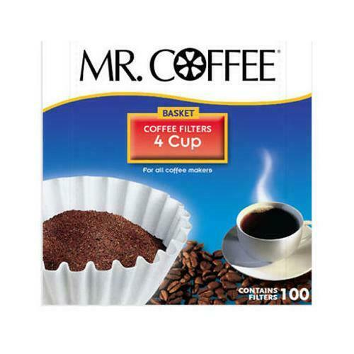 Mr.Coffee 4 Cup Coffee Filters 100 Count