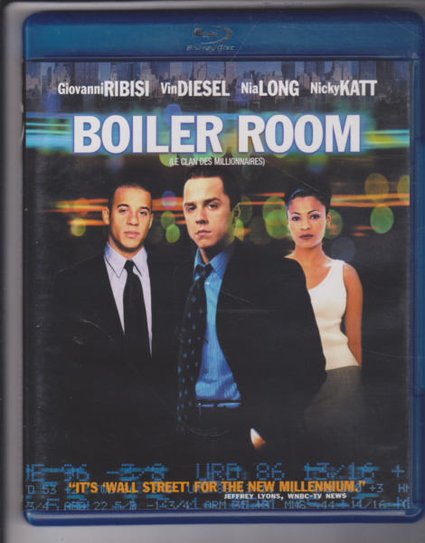 Boiler Room Blu ray2009Bilingual C $11.27