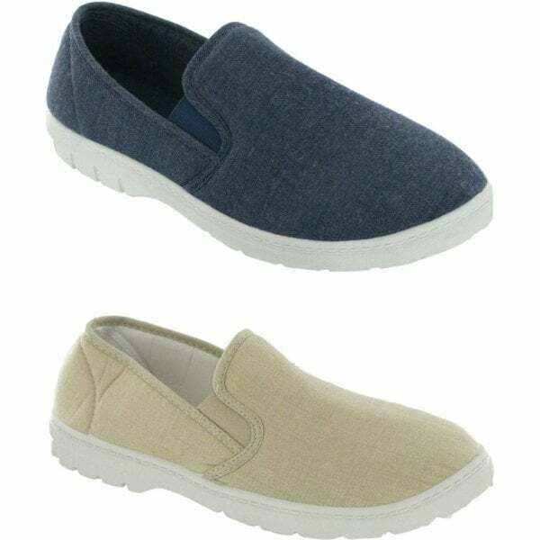Mirak TOMMY Mens Casual Everyday Breathable Lightweight Canvas Slip On Shoes $54.00