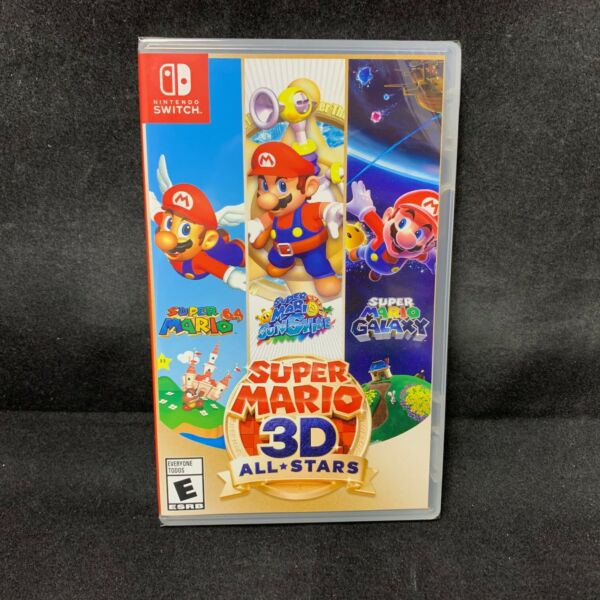 Super Mario 3D All Stars Nintendo Switch Physical Version BRAND NEW