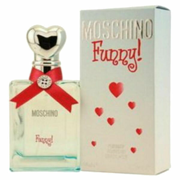 Funny for Women by Moschino Perfumed DEODORANT Spray 1.7 oz New in Box $19.95