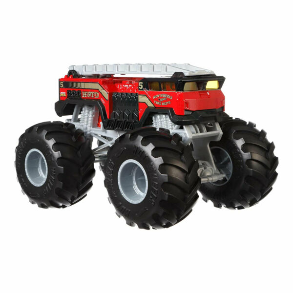 Hot Wheels Toddler Kids 5 Alarm Large Scale Monster Fire Truck Toy Ages 3 and Up $20.09