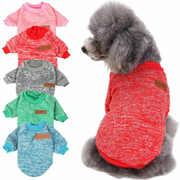 Chihuahua Puppy Sweater Coat Clothes For Small Pet Dog Warm Clothing Apparel US $6.07