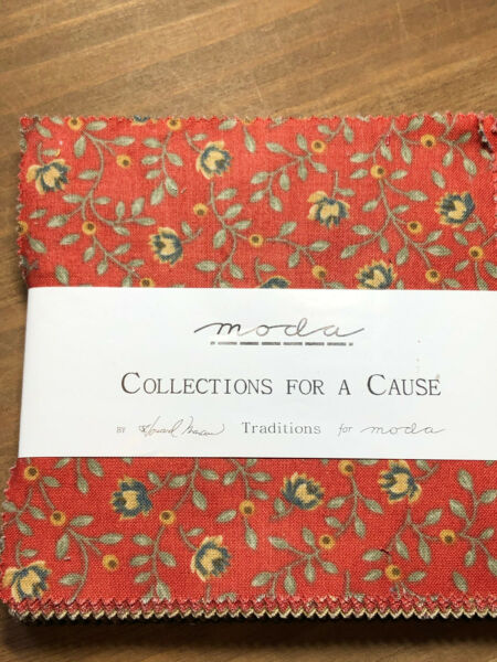 Traditions Collections for a Cause By Howard Marcus For Moda Charm Pack
