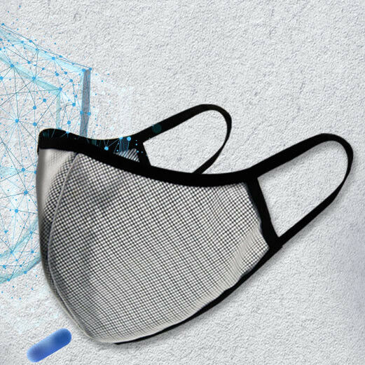 Easy Breathable semi transparent face mask Washable face mask Mesh Face Mask $8.50