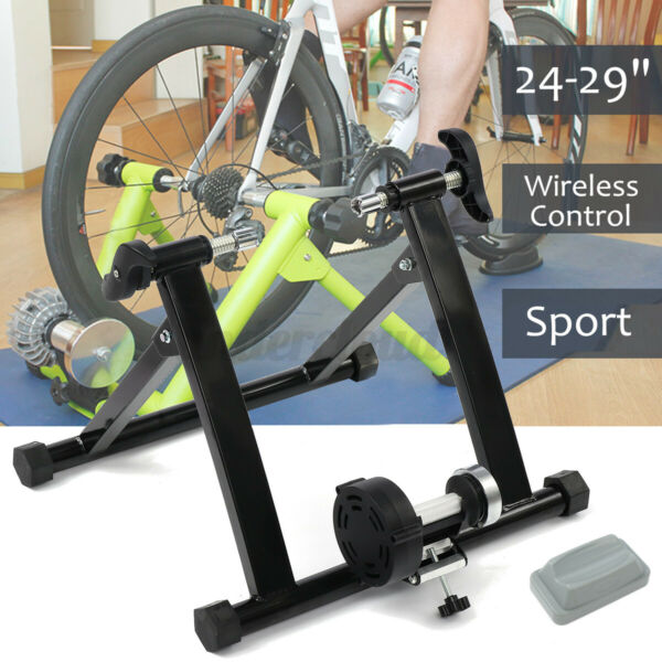 24quot; 29quot; Magnetic Bicycle Bike Trainer Indoor Stationary Exercise Stand Portable $71.24