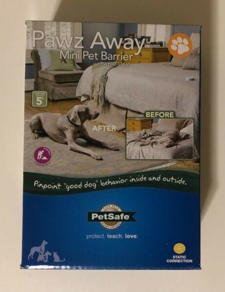 PetSafe Pawz Away Pet Barriers with Adjustable Range Pet Proofing for Cats Dogs $45.00