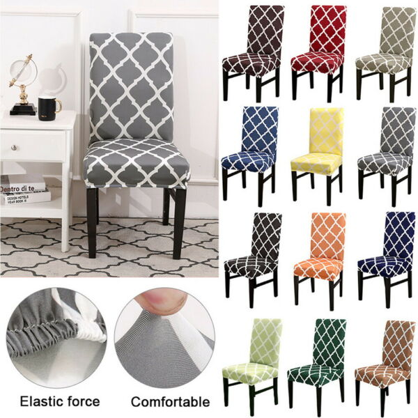 Universal Stretch Chair Cover Seat Covers Wedding Banquet Slipcovers Dining Room $10.63