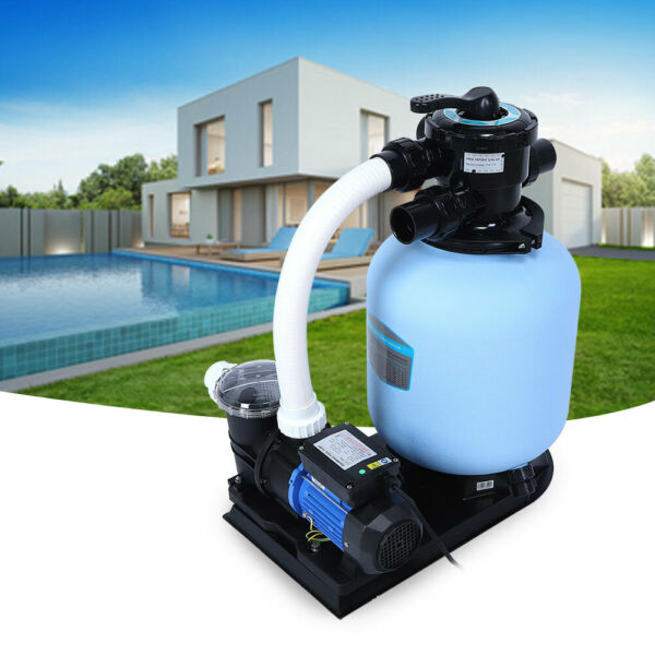 Electric Swimming Pool Filter Pump For Above Ground Paddling Pool Water Cleaner $222.09