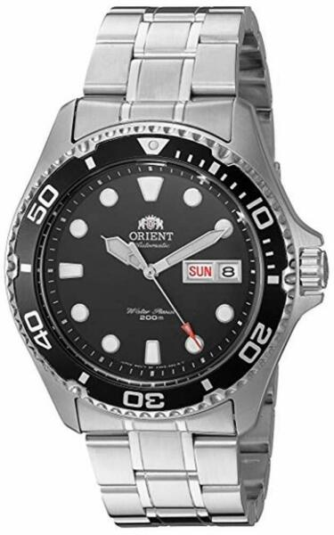 Orient Men#x27;s Diver Ray II Automatic Stainless Steel Watch FAA02004B9 NEW $119.99