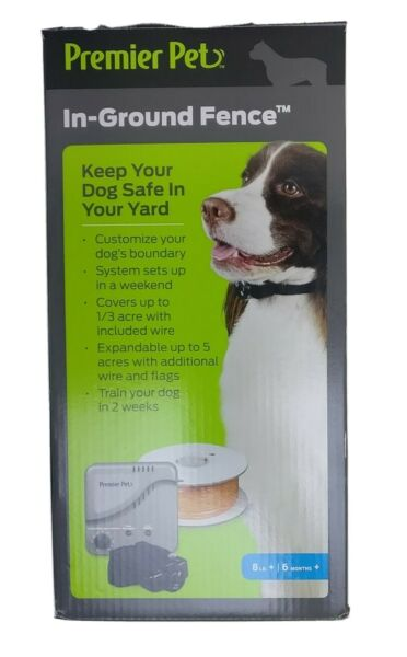 Premier Pet In Ground Fence GIG00 16919 New Open Box 500#x27; Wire $66.99