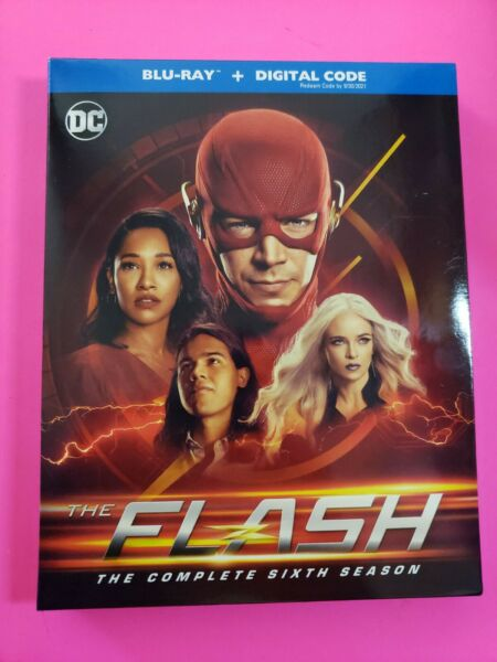 The Flash: The Complete Sixth Season 6 Blu ray w Slipcover *No Digital Code* $19.99