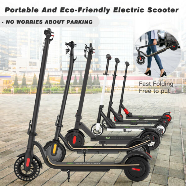 Electric Scooter Adult E Scooter TeensPortable Folding RechargeableHigh Speed $248.40