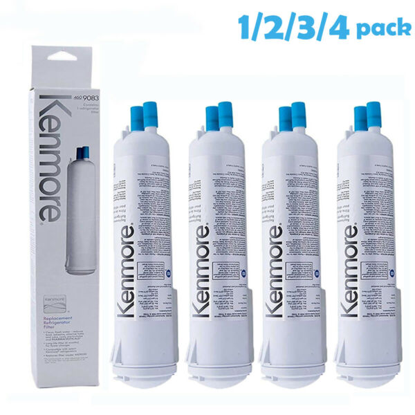 1 4 pack Kenmore 9083 469083 Replacement Refrigerator Water Filter 9020 9030
