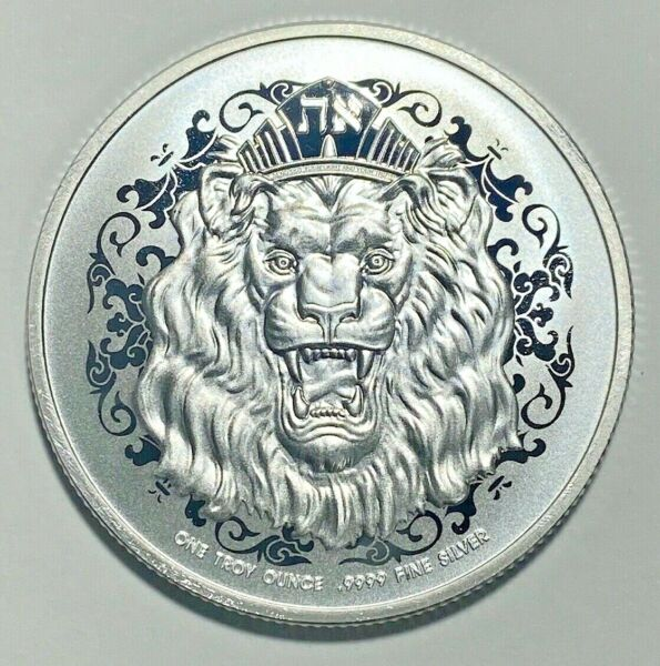 2021 Niue 2 Dollars Roaring Lion Judah Silver EXTREMELY RARE IN STOCK IN HAND $36.49