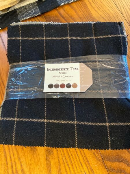 Moda Independence Trail Wool Minick amp; Simpson Layer Cake