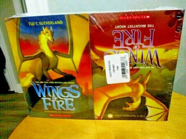 Wings of Fire Set Books 1 10 Sutherland Brand New SEALED Set ☆ Young Readers