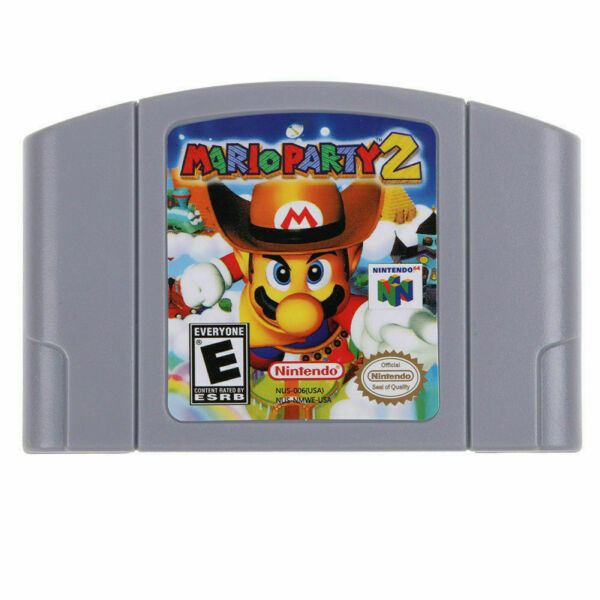 Mario Party 2 For Nintendo 64 Video Games Cartridges N64 Console US Version $22.99
