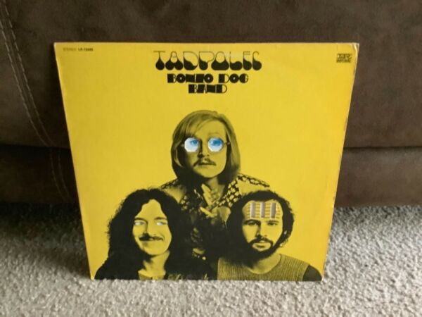 BONZO DOG BAND Tadpoles 1969 Imperial LP 12445 Stereo Die Cut Cover EX $24.95