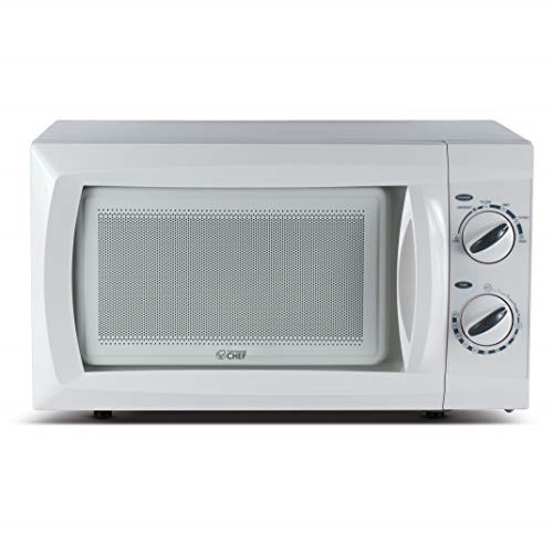 Commercial Chef Counter Top Rotary Microwave Oven 0.6 Cubic Feet 600 Watt