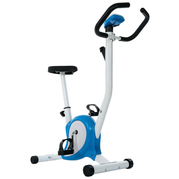 Exercise Stationary Bike Cycling Home Gym Cardio Workout Indoor Fitness Blue $89.99