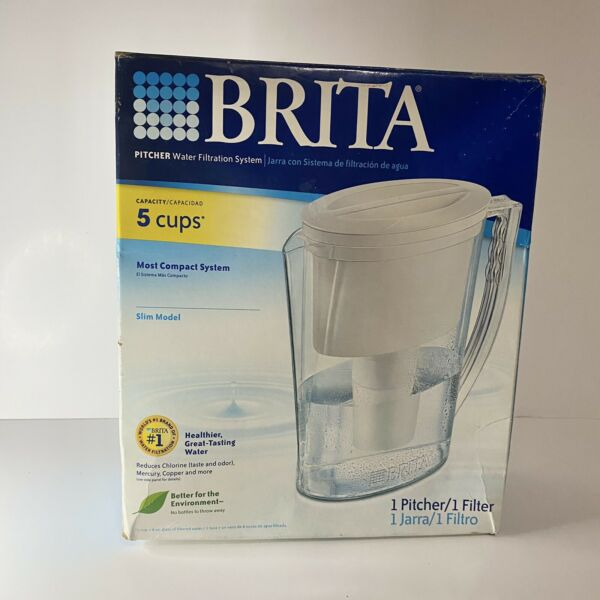 Brita Water Filtration System Slim Model Holds 5 Cups