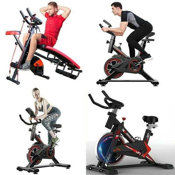 Cycling Bike Exercise Stationary Bike W phone Mount Cardio Workout Home Indoor A $235.79