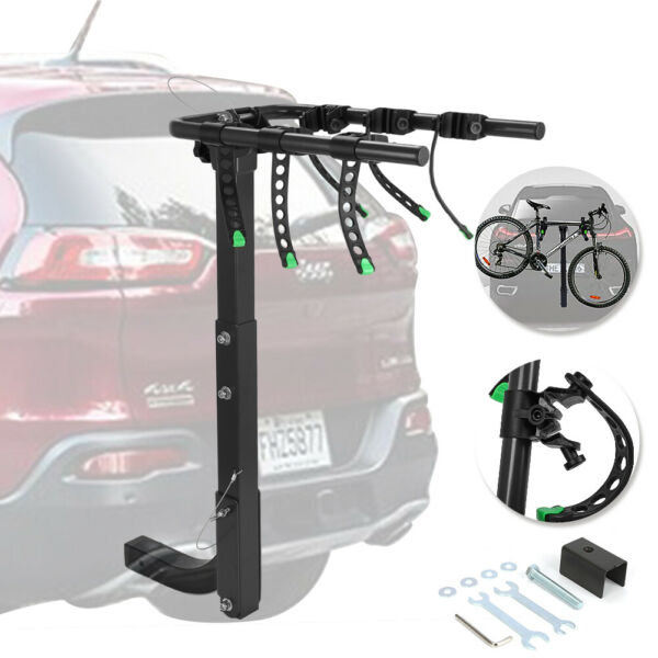 3 Bicycle Hitch Mount Carry Arm Spacing Car Bike Rack With 2 Inch Receiver $79.97