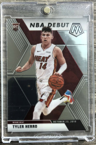 2019 20 Panini Prizm Mosaic Tyler Herro Rookie Card RC NBA Debut Miami Heat 🔥🔥