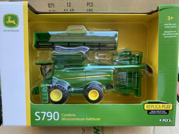 ERTL 1:64 John Deere S790 Self Propelled Combine