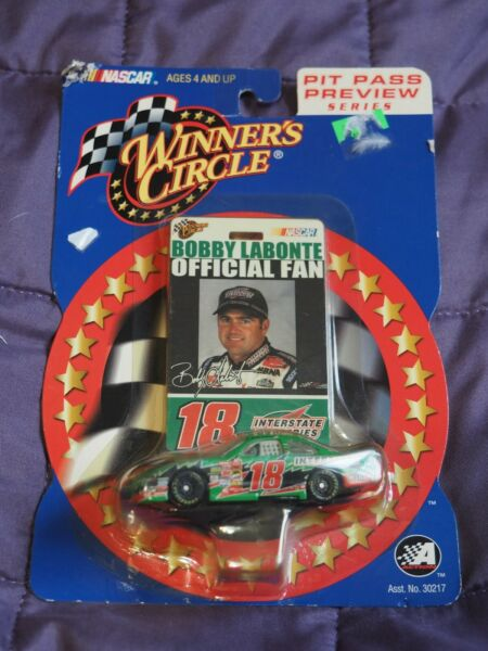 Bobby Labonte #18 Pit Pass Preview Series 1:64 Winners Circle