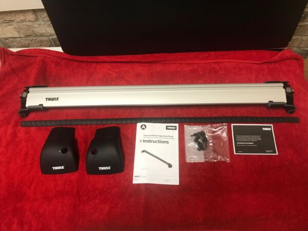 NEW 7602 Thule AeroBlade Edge Flush Mount Rack 1 Bar Medium Silver $179.95