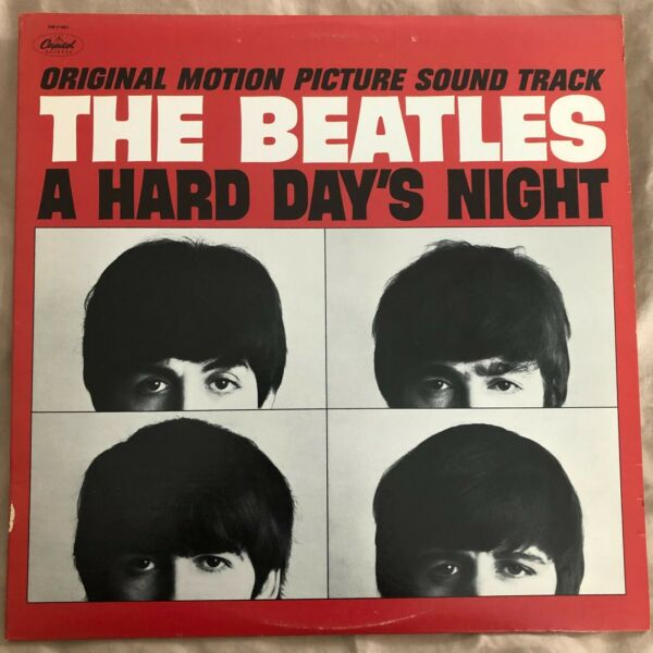 The Beatles A Hard Day#x27;s Night LP SW 211921