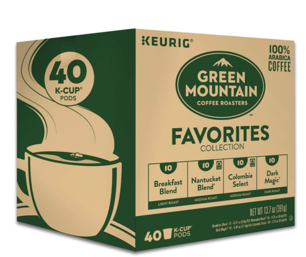 Keurig Green Mountain Coffee Roasters Favorites Collection Variety Pack Single
