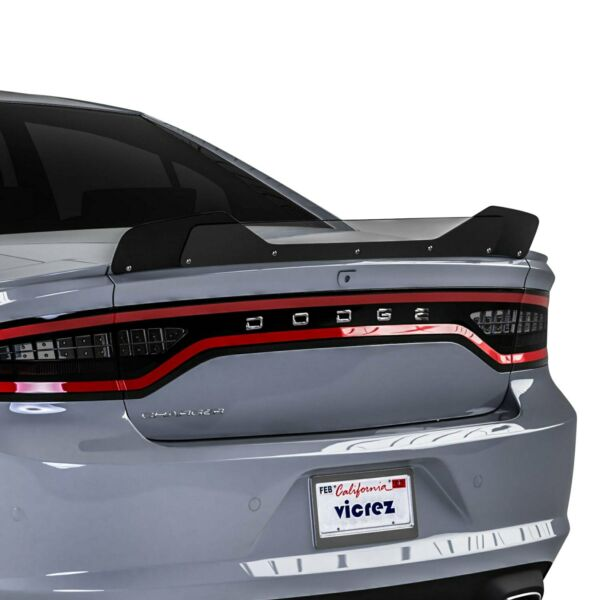 For Dodge Charger 15 20 VZ1 Style Gloss Black Rear Wicker Bill Add on Spoiler $117.51
