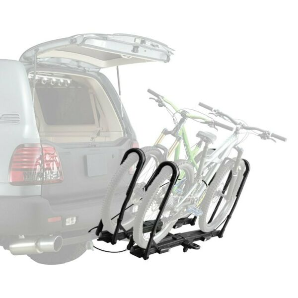 INNO INH110 Tire Hold Hitch Mount Bike Rack 1 Bike Fits 1 1 4quot; amp; 2quot; Receivers $314.99