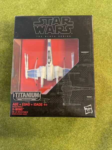 Star War Titanium Series Die Cast X Wing