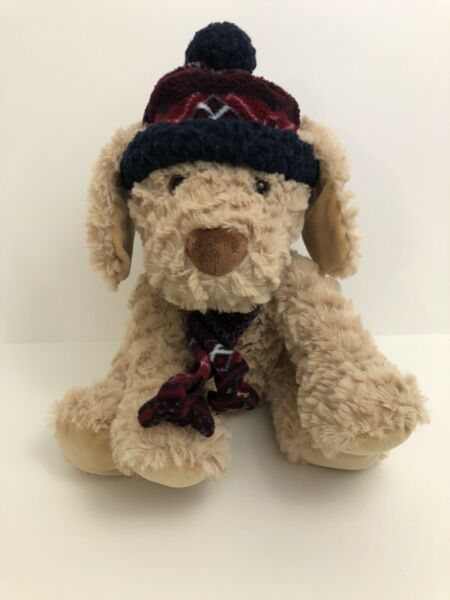 Kobie Dog St. Jude Childrens Hospital Charity Plush Winter Scarf Hat Tush Tag $14.92
